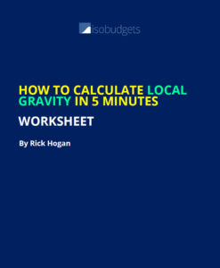 How to Calculate Local Gravity Worksheet
