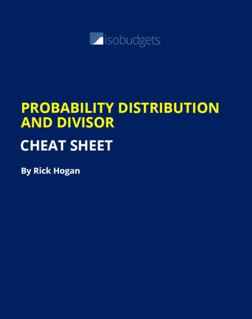 probability distribution cheat sheet