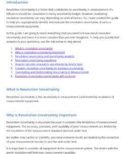 calculate resolution uncertainty guide page 3