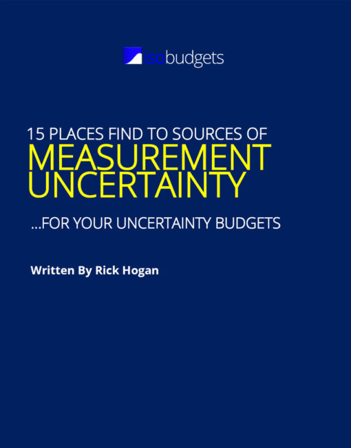 15 Best Places to Find Sources of Measurement Uncertainty