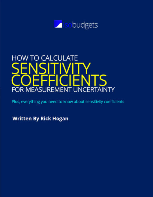 Calculate Sensitivity Coefficients Guide