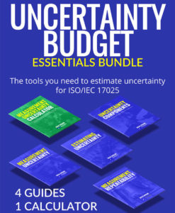 Uncertainty Budget Essentials Bundle