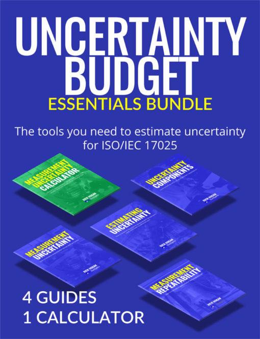 Uncertainty Budget Essentials Bundle