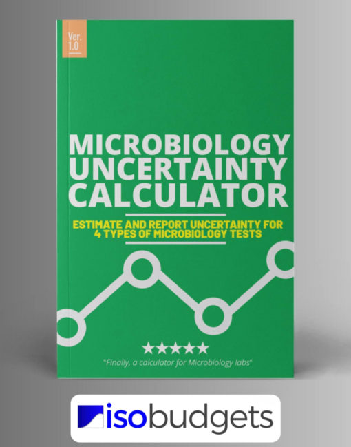 Uncertainty Calculator for Microbiology Lab Excel