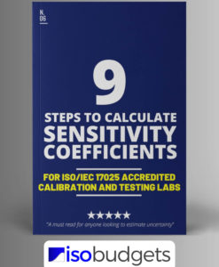 Sensitivity Coefficient for Measurement Uncertainty Guide