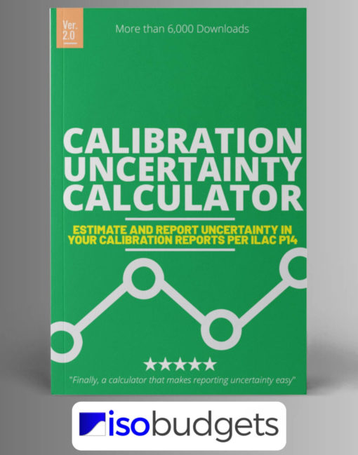 Calibration Uncertainty Calculator Excel ILAC P14