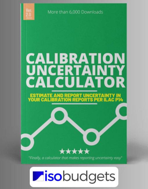Calibration Uncertainty Calculator Excel ILAC P14