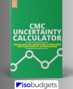 CMC Uncertainty Equation Calculator for Excel