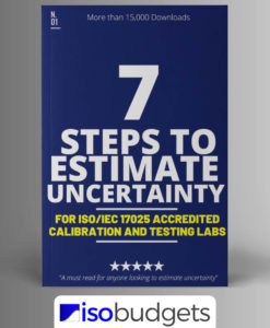 how to calculate measurement uncertainty in 7 steps