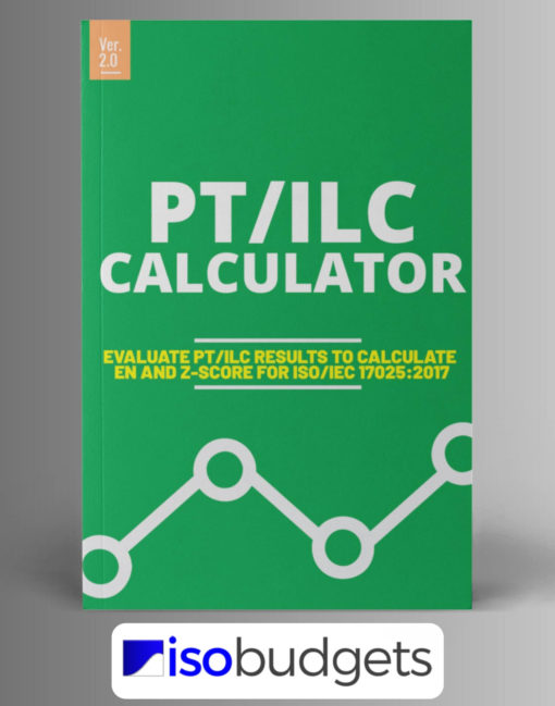 Proficiency Testing Calculator Excel ISO17025