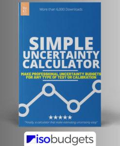 Simple Uncertainty Calculator
