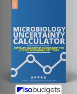 Uncertainty Calculator for Microbiology Lab