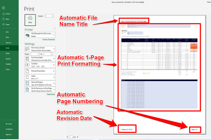 Automatic Page Formatting
