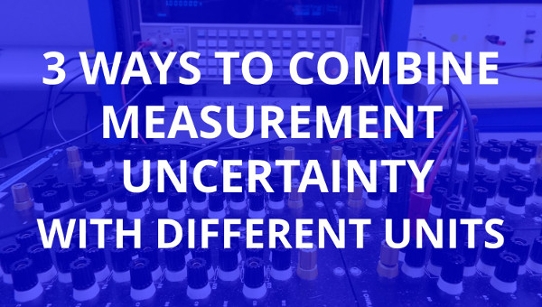 combine measurement uncertainty