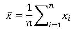 average equation
