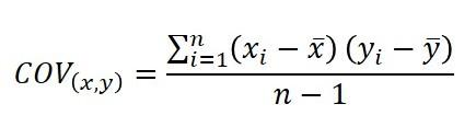 covariance formula