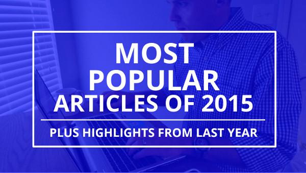 most popular blog articles 2015