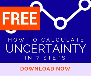 calculate uncertainty guide
