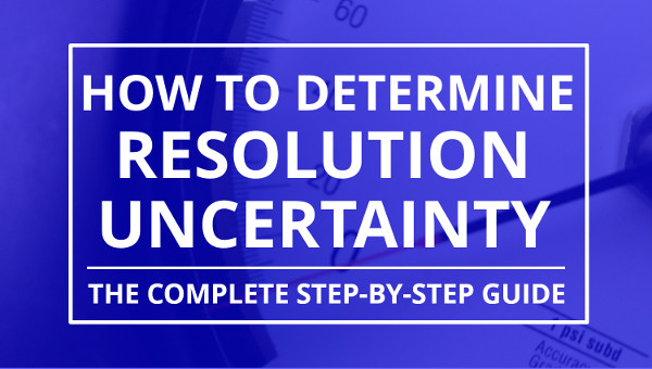 How To Determine Resolution Uncertainty