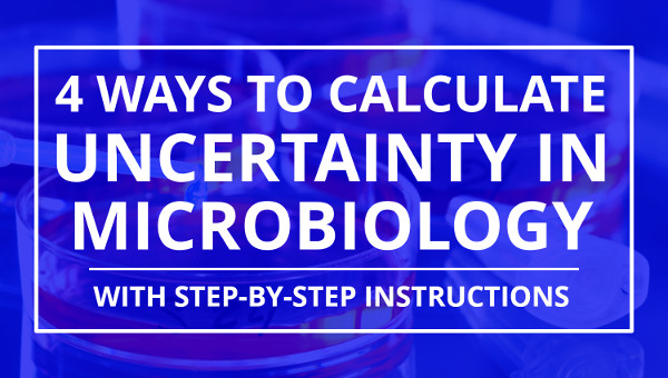 how to calculate measurement uncertainty in microbiology