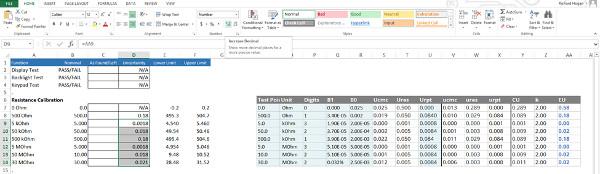 Cómo añadir una calculadora de incertidumbre a su lista de calibración