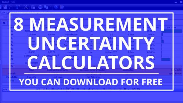 measuement uncertainty calculator software
