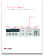 agilent 3458 datasheet sources of uncertainty