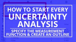 How to Begin an Uncertainty Analysis