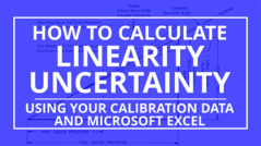 How to Calculate Linearity Uncertainty
