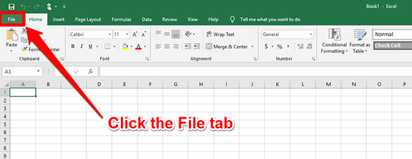 install data analysis toolpak for excel step 1