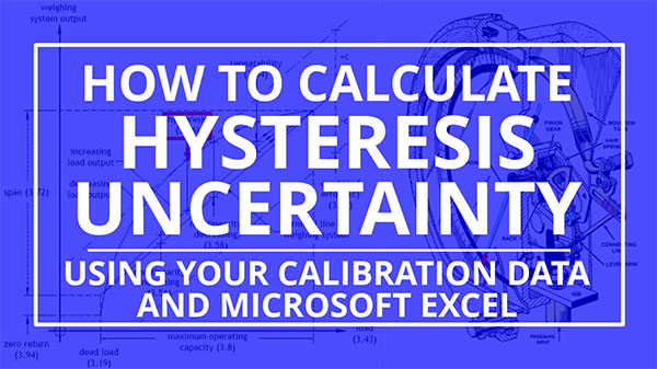 How to Calculate Hysteresis Uncertainty